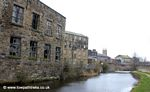 Empty Mills by the Leeds Liverpool Canal