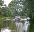 Cruising on the Leeds Liverpool Canal