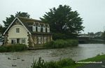 The old life boat house by Falcon Bridge Bude