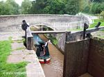 Tilstone Lock, The Shropshire Union Canal