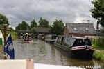 Sailing on the Trent and Mersey Canal
