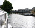 Town Swing Bridge the River Weaver Navigation